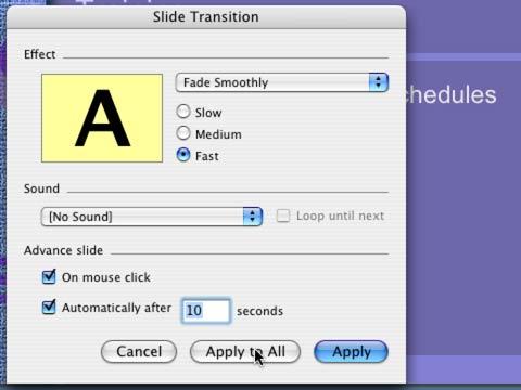Fine Tune the Presentation