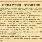 Learning About Creating Stories From Cinema